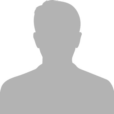 Silhouette grau Mann